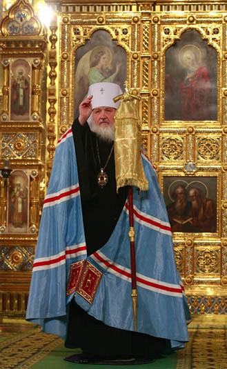 Patriarch-elect Kirill of Moscow and All Russia