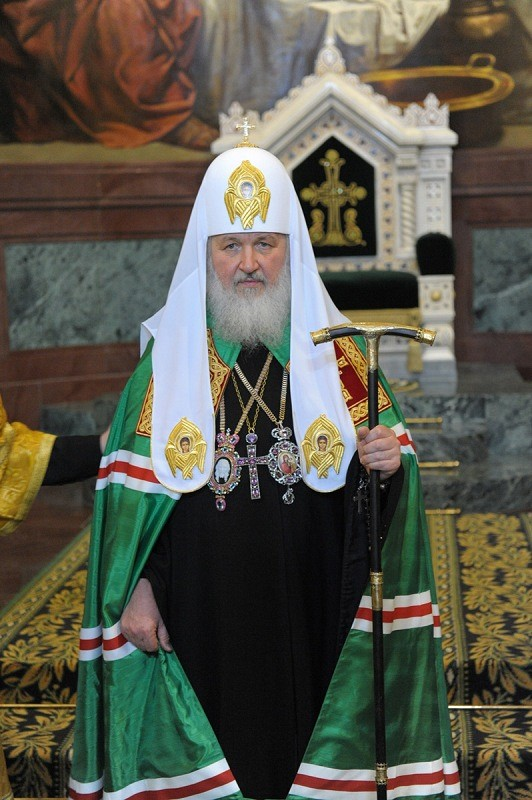 His Holiness, Patriarch Kirill of Moscow and All Russia